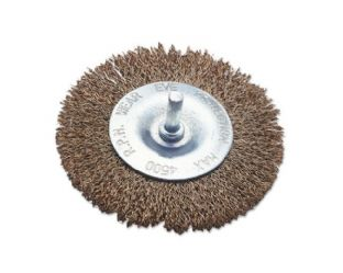 "Laser 0353 Wire Brush Flat Type 4"" 100mm"